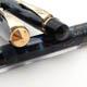 Conway Stewart No.12&Nippy No.3 Blue Pearl&Gold Vein | コンウェイ・スチュワート
