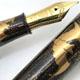 Kubo 24k 50号 流水蝙蝠 金銀杢目塗り蒔絵 万年筆  | Kubo