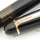 Montblanc 146G Meisterstuck Black 50's Early Type | Montblanc 3-44 Black Blue TOP