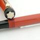 Montblanc 20 Masterpiece Coral Red Danish Taper Cap | モンブラン