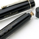 Montblanc 4 Black Flat Top Danish Bandless | モンブラン