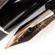 Montblanc No.4 Lever Filler 800 Silver Ball Clip   モンブラン