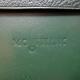 Montblanc Leather Brief Case Green   モンブラン