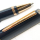 Omas 360 Ball Point Blue Pearl Rose Gold Finish | オマス