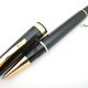 Omas Alte Italiana Milord Roller Ball Black Gold Finish | オマス
