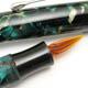 Kotori Grass Pen Push Button Filler Green&Gold Pearl MBL | Kotori