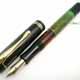 Pelikan 100 Black/Jade Green Short Cap Top | ペリカン