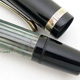Pelikan 100N Black/Grey Stripe Prototype Single Band | ペリカン