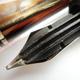 Pelikan 101N Dark Tortoise-shell Black Top   ペリカン
