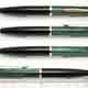 Pelikan 350 Pencil Black/Green Stripe | ペリカン