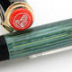 Pelikan 400 Black/Green Stripe Red Top | ペリカン