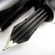 Pelikan 400N Black/Black Stripe | ペリカン