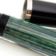 Pelikan 400N Black/Green Stripe | ペリカン