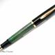 Pelikan 400N Black/Green Stripe | ペリカン