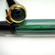 Pelikan M400 Black/Green Stripe Early | ペリカン