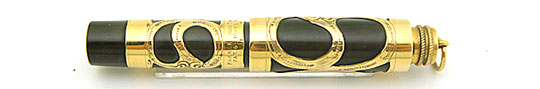 Parker No.16 Baby Rolled Gold Filigree