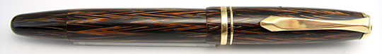 Soennecken 111 Superior Dark Brown Herringbone