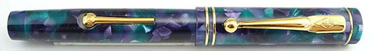 Conway Stewart Dandy Lever Fiiler Azure