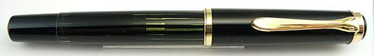Pelikan 400 Black/Black Stripe