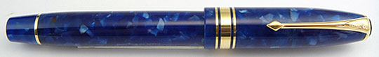 Conway Stewart 100 Marble Blue -New-