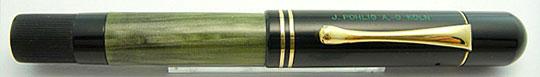 Pelikan 100 Black/Olive Green MBL