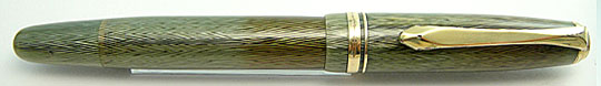 Soennecken 111 Extra Dark Sea Green Herringbone
