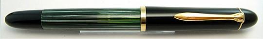 Pelikan 300 Black/Green Stripe