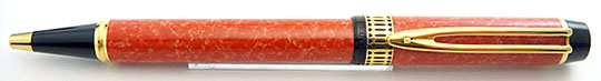 Waterman Le Man 100 Patrician Ball Point Coral Red MBL