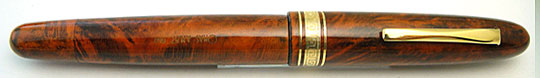 Omas AM87 Toscana Rust Briar Wood