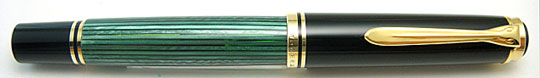 Pelikan M800 Black/Green Old Type 14c-F
