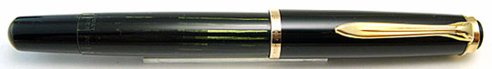 Pelikan 400N Black/Black Stripe