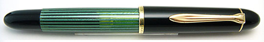 Pelikan 140 Black/Green Stripe
