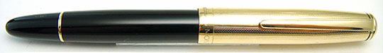 Montblanc 642N Meisterstuck Barleycorns Rolled Gold Cap