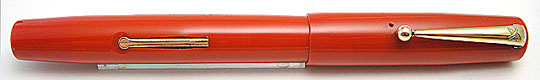 Mabie Todd Black Bird 5277 Self Filling Pen Scarlet
