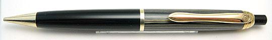 Geha 810 Pencil Grey Stripe/Black