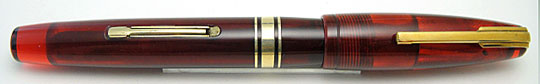 Waterman Hundred Year Pen Burgundy Red Transparent
