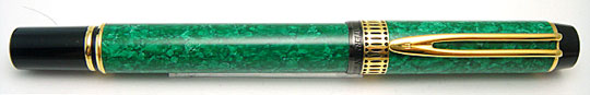 Waterman Le Man 100 Patrician Jade Green