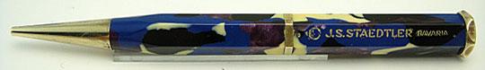 J.S.Staedtler 6-Facet Multi Color Pencil