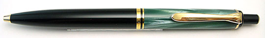 Pelikan K200 Green MBL/Black Ball Point
