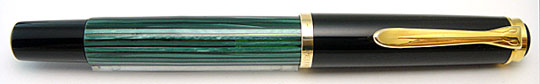 Pelikan M400 Black/Green Stripe Early