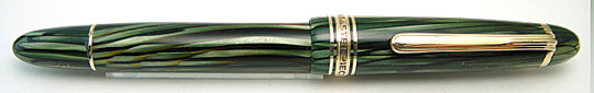 Montblanc 144 Masterpiece Green Striated