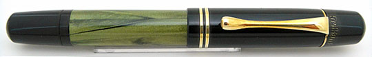 Pelikan 100N Black/Sea Green MBL Early