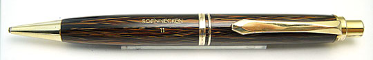 Soennecken 11 Pencil Dark Totoise Shell Herringbone