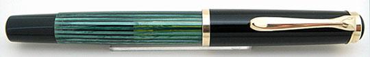 Pleikan 400 Black/Green Stripe