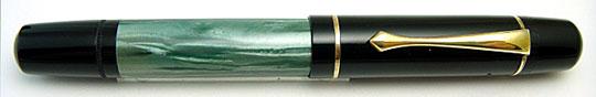 Pelikan 100N Black/Green MBL Danzig