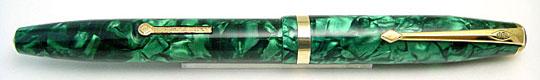 Conway Stewart 85L Emerald Green Pearl MBL