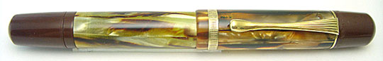 Pelikan 101N Tortoise-shell Single Chased Ring