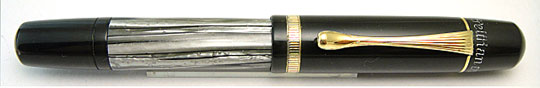 Pelikan 100N Black/Grey MBL Single Band