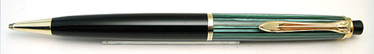Pelikan 450 Pencil Green Stripe/Black