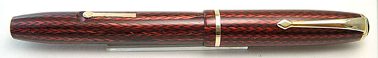 Conway Stewart No.28 Red Herringbone